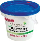EasyPak™ Micro Battery Recycling Container