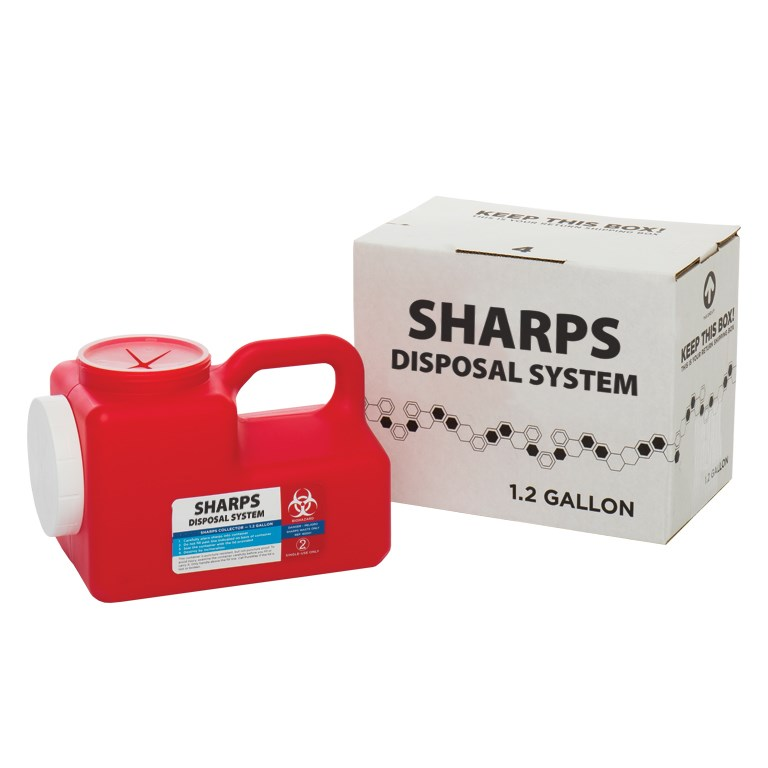 1 2 Gallon Sharps System