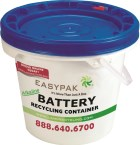 EasyPak™ Alkaline Battery Recycling Container