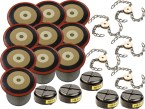Jumbo Filter Combo Kit (10 Cartridge Filters, 5 HEPA, 5 Spinners 8-link chains)