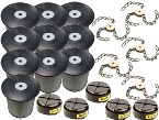 Jumbo Filter Combo Kit (10 Cartridge Filters, 5 HEPA, 5 Spinners -8 link chains)